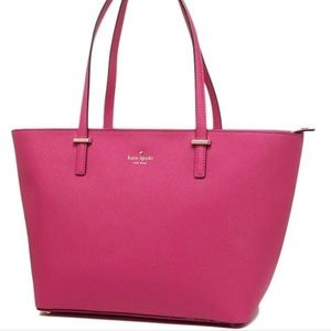 Large Pink Kate Spade Harmony Tote